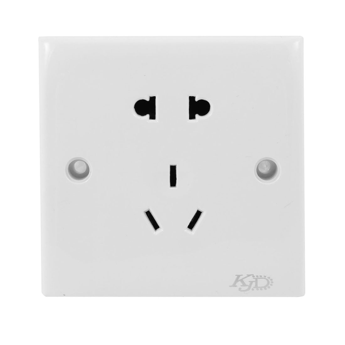 Home Plastic Shell 2 Pin US EU Outlet 3 Pins AU Socket Wall Plate 250VAC 10A