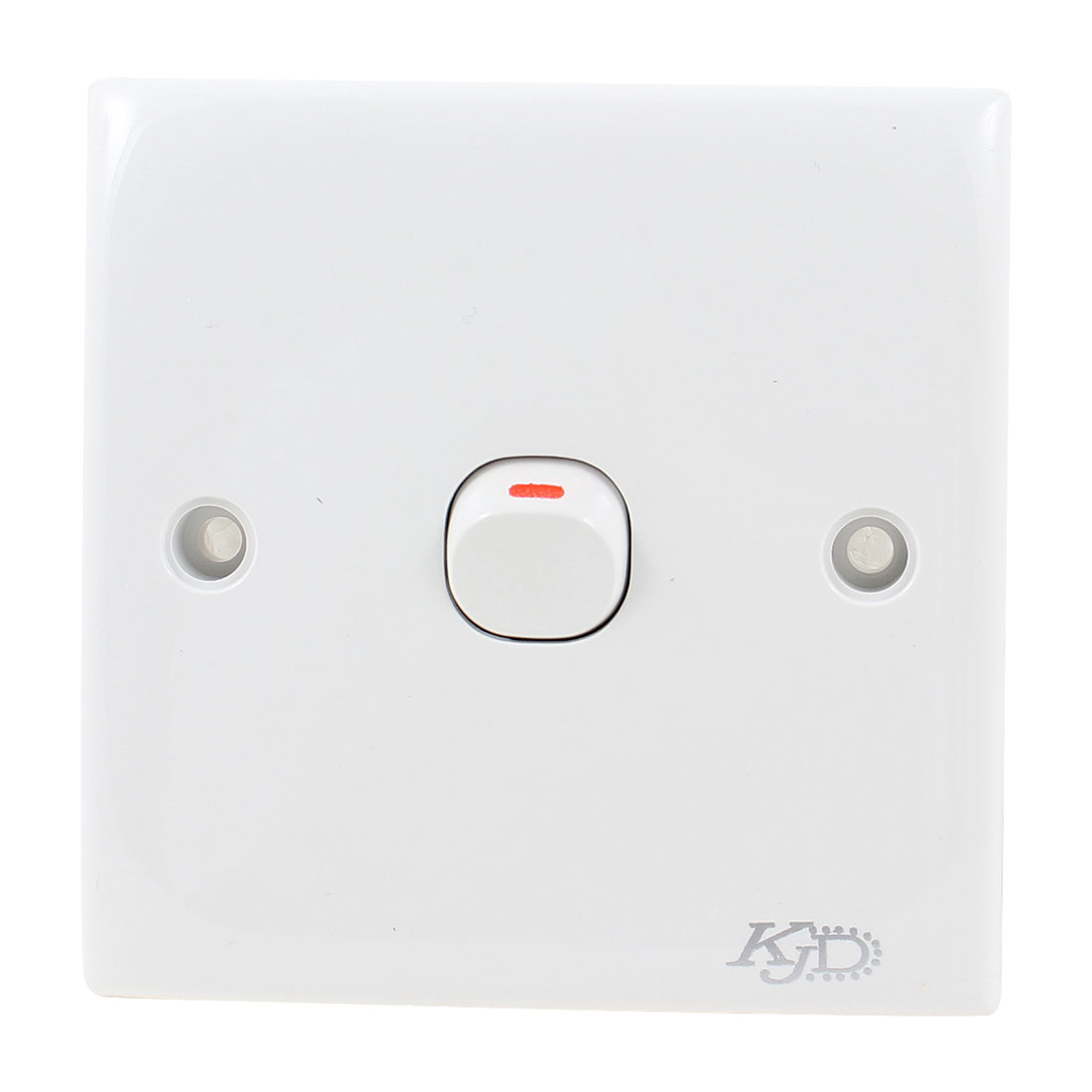 Household Wall Mounted Single Gang Light Control Switch Plate AC 250V 10A