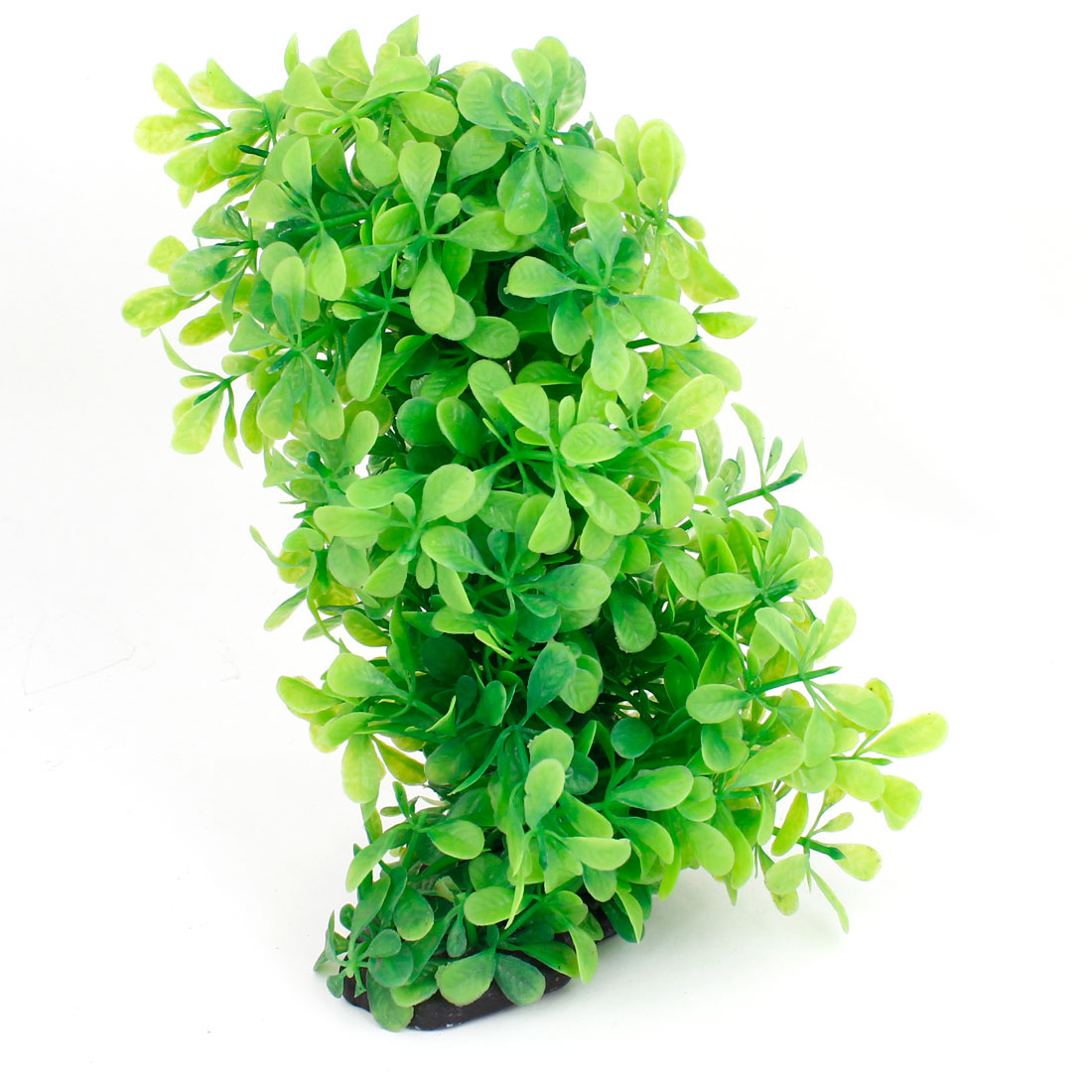 "Fish Tank Aquarium Decoration Green Emulational Plastic Grass 8.5"" Height"