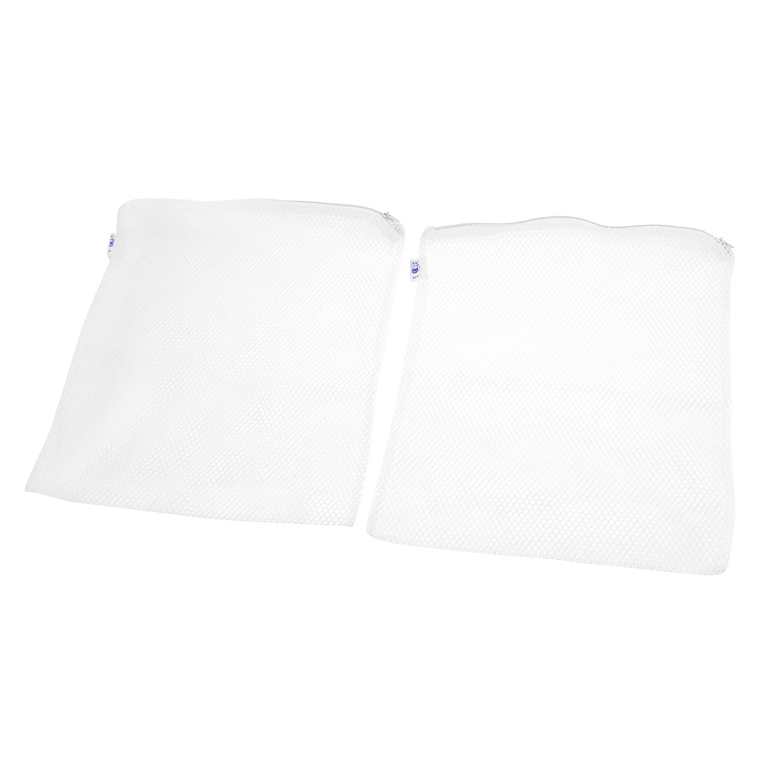 270mm x 300mm Fish Tank Breeder White Fry Isolation Net Mesh Bags 2 Pcs