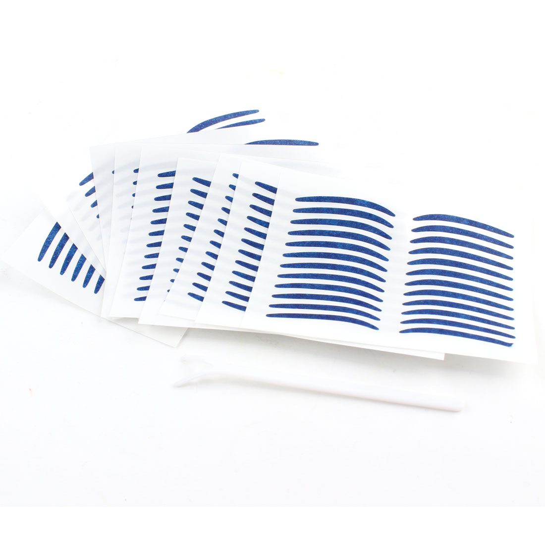 120 Pairs Cosmetic Tool Double Eyelid Maker Adhesive Tapes Stickers Yale Blue