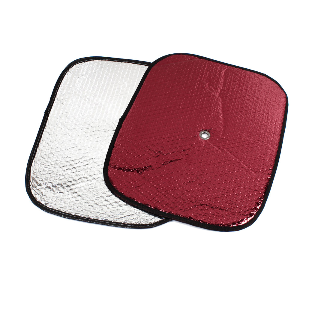 Windshield Sun Visor Sunshield Sunshade Red 40cm x 32cm 2pcs for Car