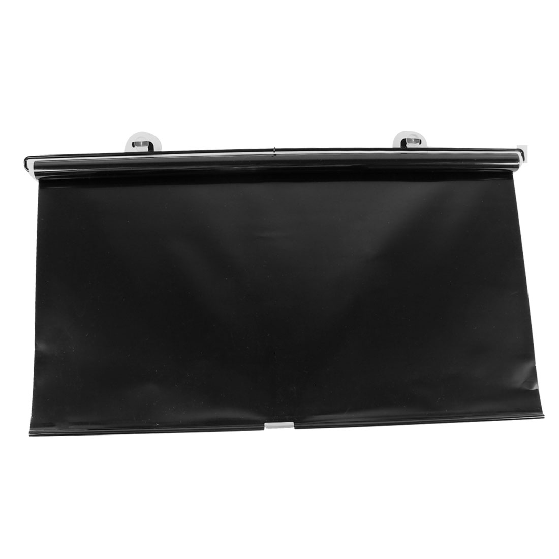 Vehicle Truck Car Black Roll Design Sun Visor Window Sunshield 145 x 63cm