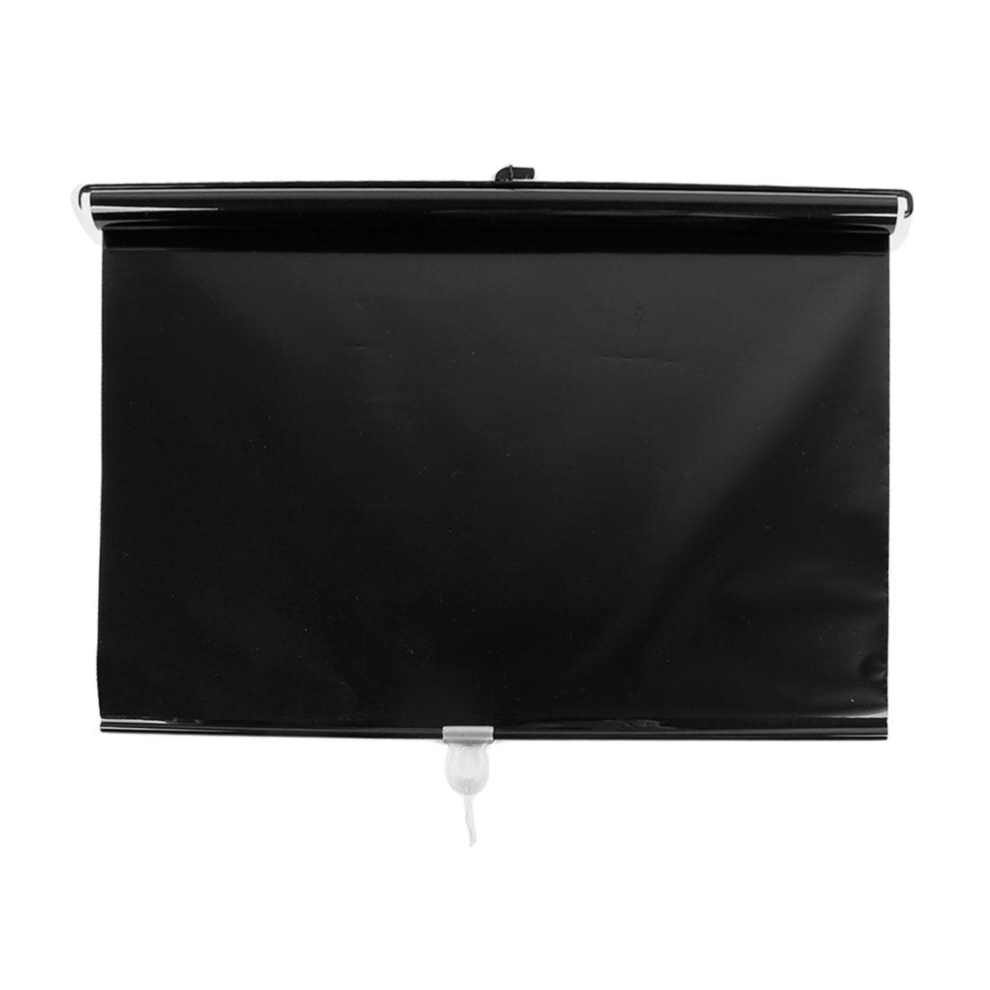 "49.6"" x 19.6"" Vinly Sun Visor Windcreen Window Sunshade Black for Car"