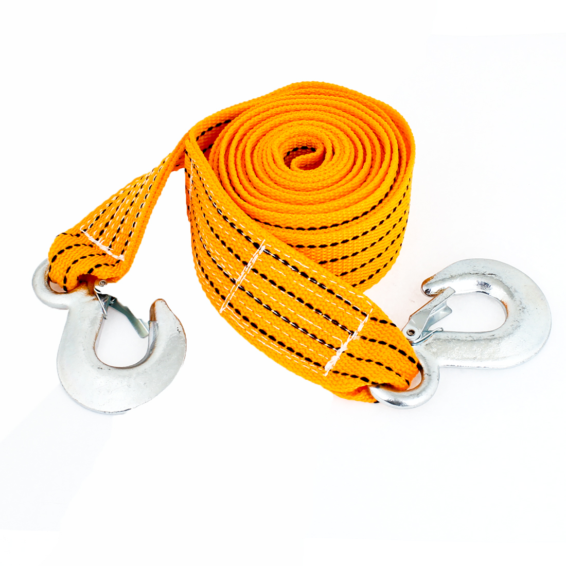 3.5M Orange Black Nylon Tow Webbing Strap Belt 3 Tons for Car