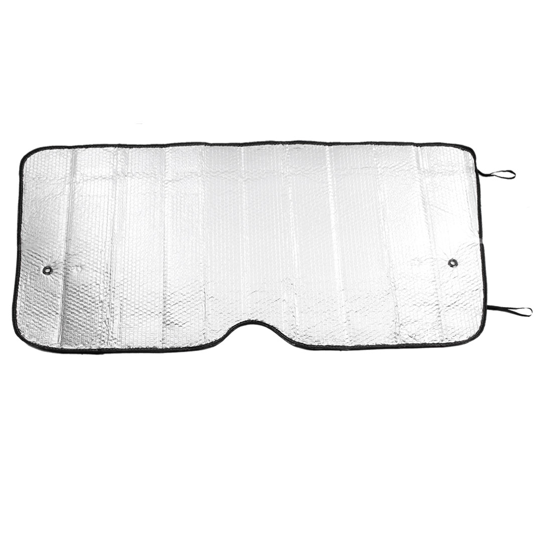"46"" x 24"" Silver Tone Interior Front Rear Window Sun Shade Sunshield for Car"