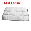 Aluminum Foil Water Resistant Sleeping Pad Mat Outdoor Camping Mattress