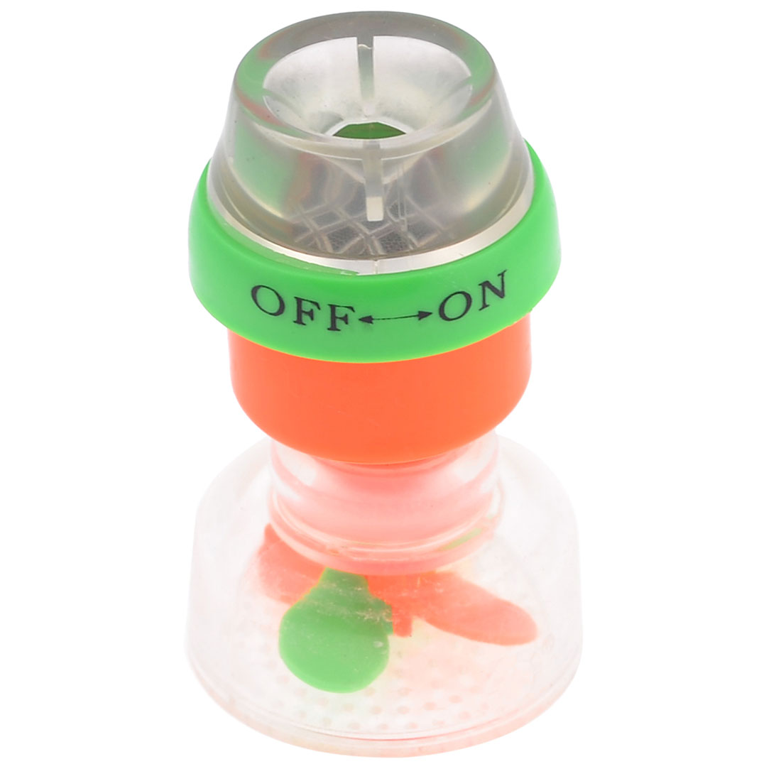 Household Water Tap Green Orange Red Plastic Magnetized Filter Purifier