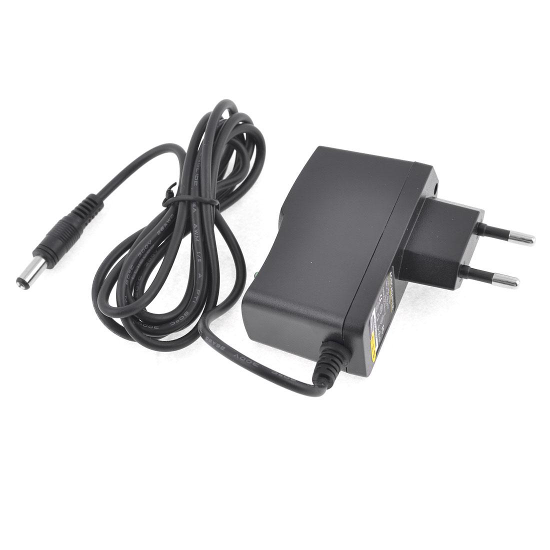 EU Plug Home Travel AC100-240V 50-60Hz DC12V 1APower Supply Adapter