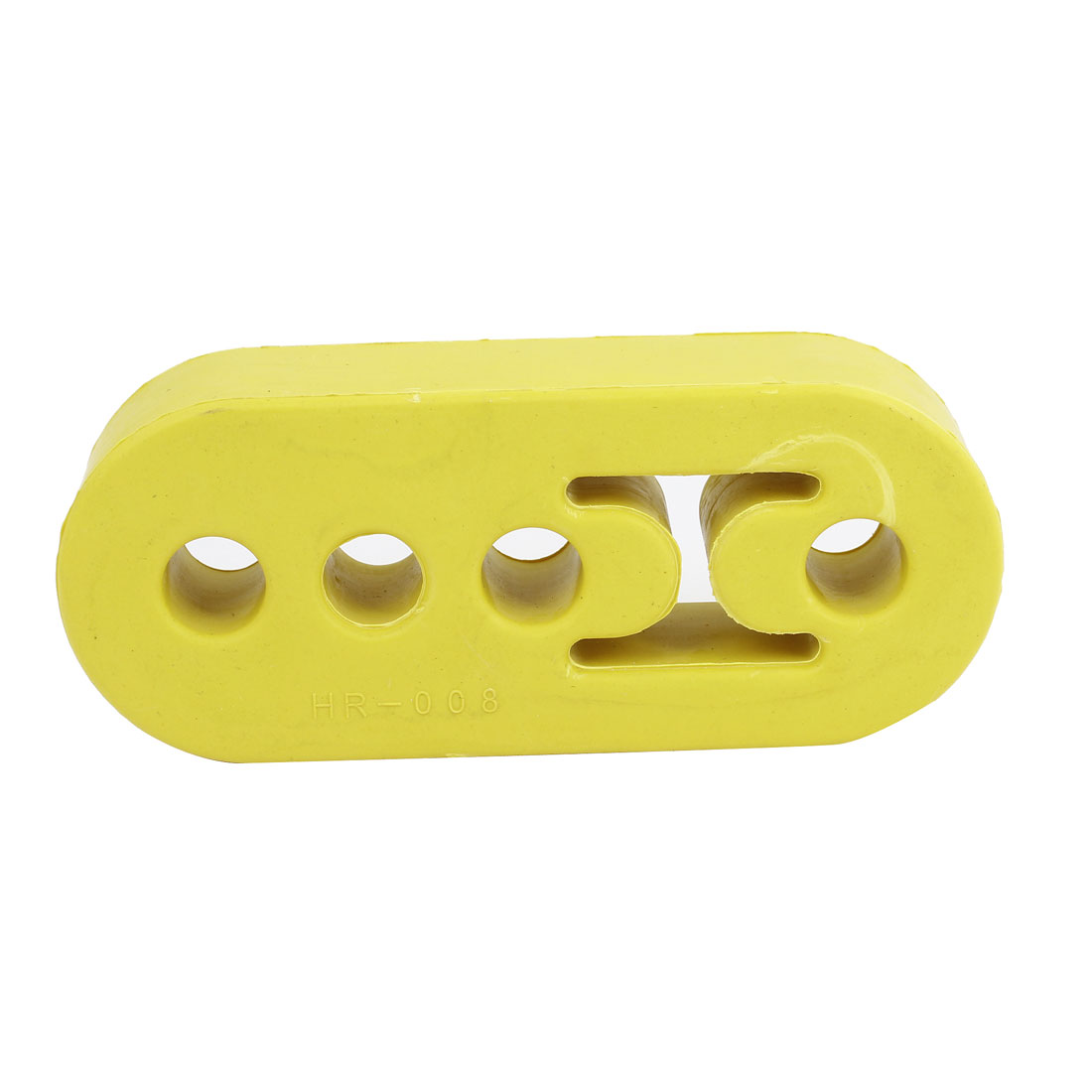 Universal 4 Hole Rubber Automobile Car Exhaust Hanger Bushing Yellow