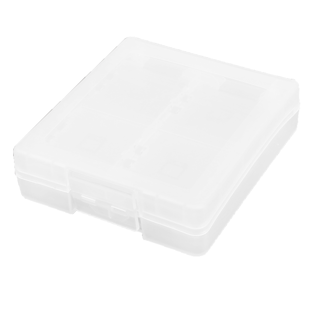 Clear White Smoke 16 in 1 Game Card Case Holder Cartridge Box