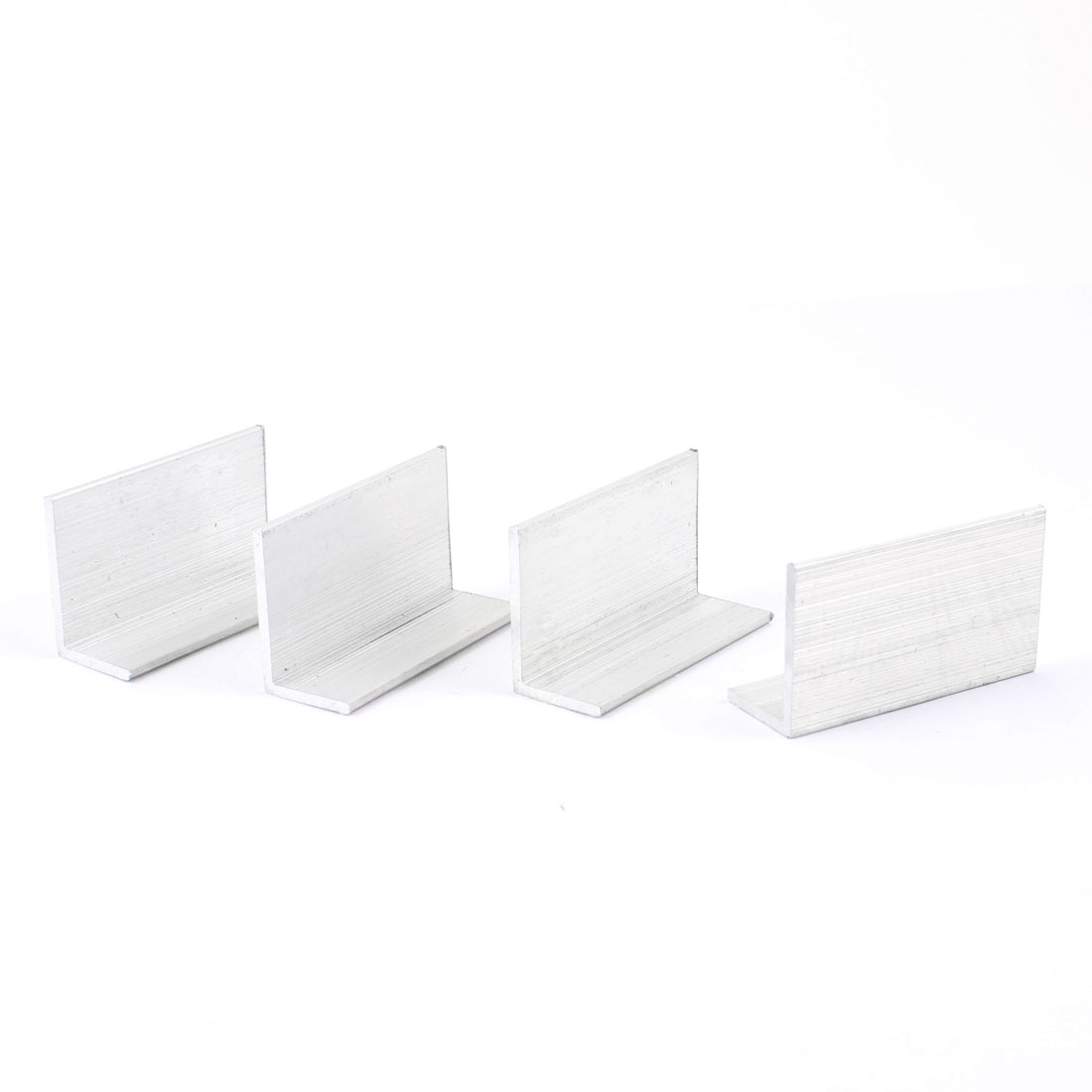 4 Pcs Right Angle Aluminum Alloy Shelf Corner Bracket 45mm x 16mm x 26mm