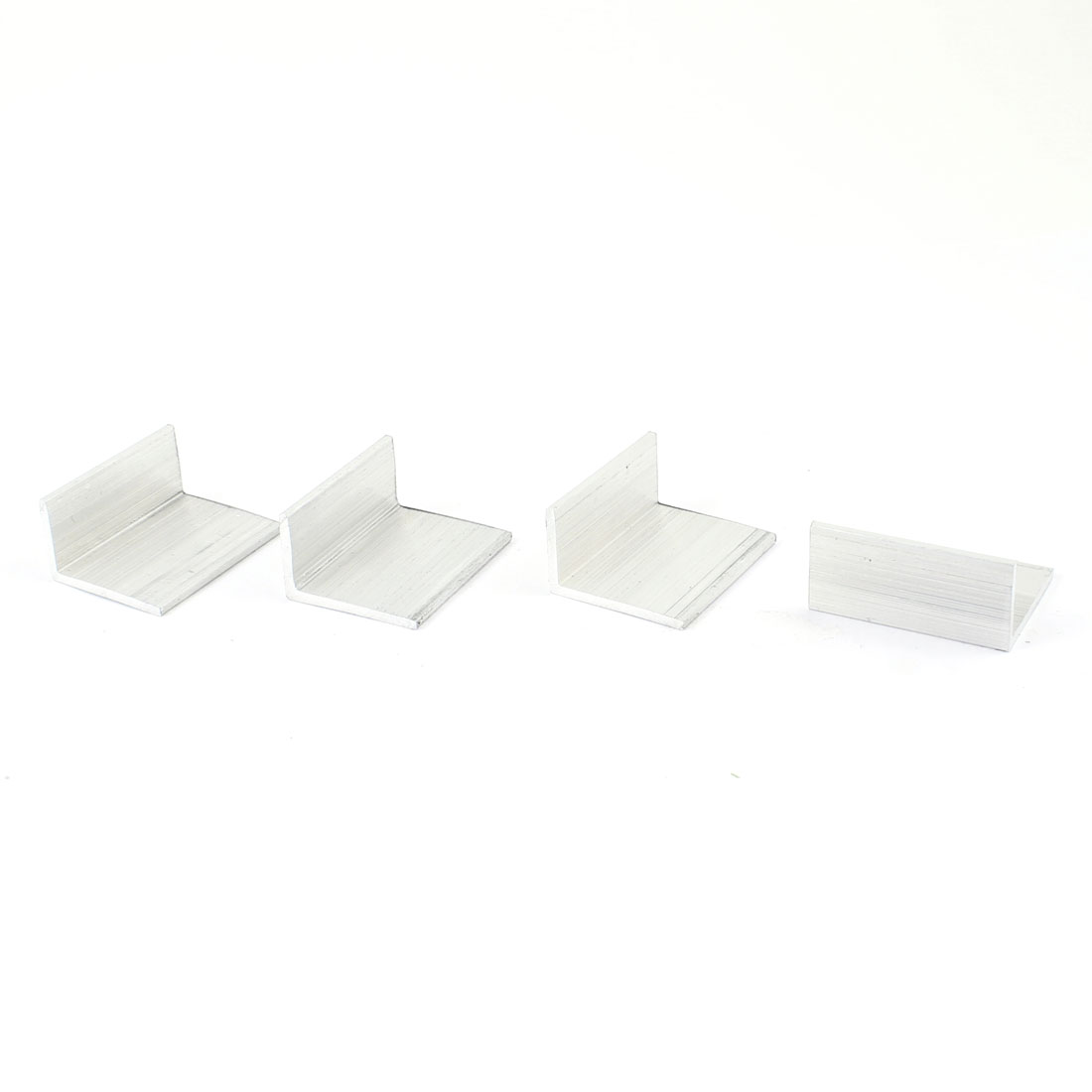 4 Pcs 34mm x 16mm x 26mm 90 Degree Angle Aluminum Alloy Shelf Bracket
