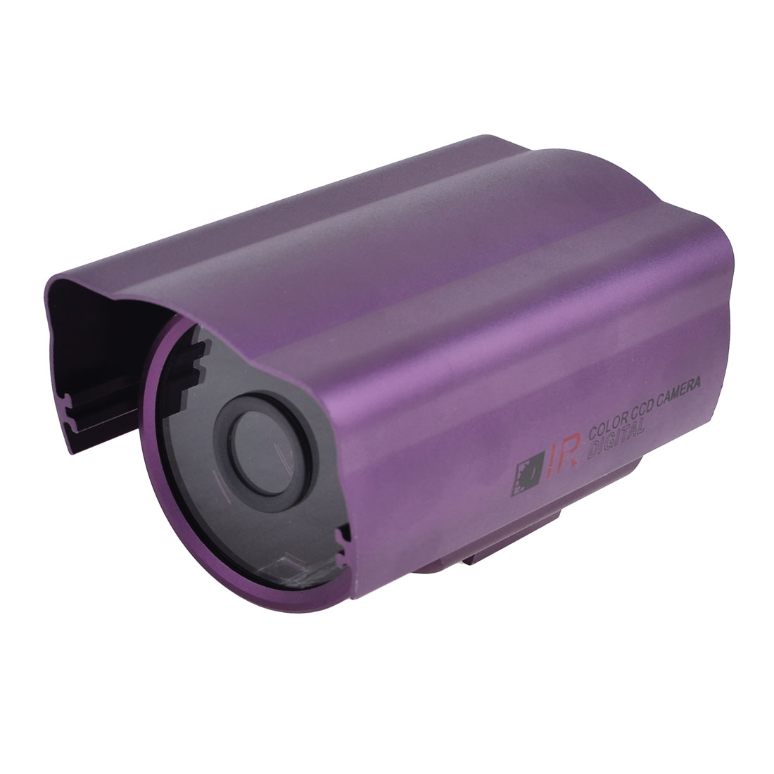 Aluminum Alloy Protective Security CCTV IP IR Camera Housing Case Purple 5""