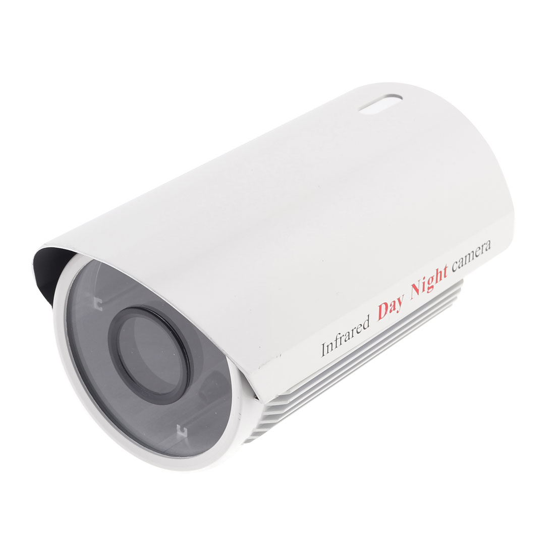 """6.5"""" x 3"""" x 3"""" Metal Water Resistant Housing Case Off White for CCTV Camera"""