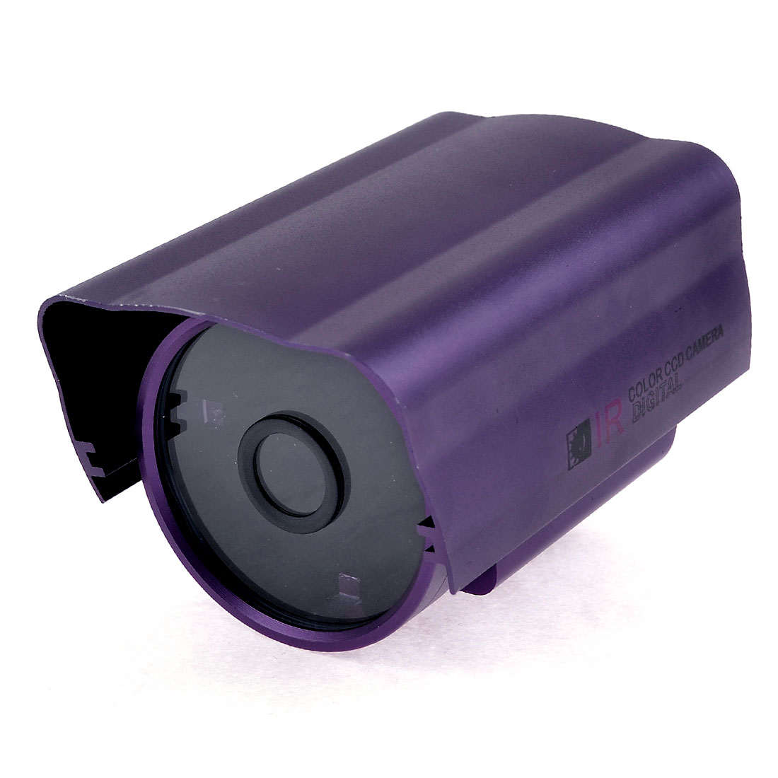 "4.7"" Aluminium Alloy Protective Security CCTV CCD Camera Housing Case Purple"