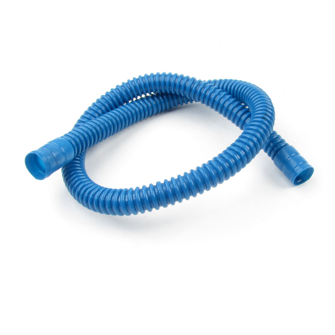 Blue Plastic 2Ft Washing Machine Water Waste Drain Hose Pipe