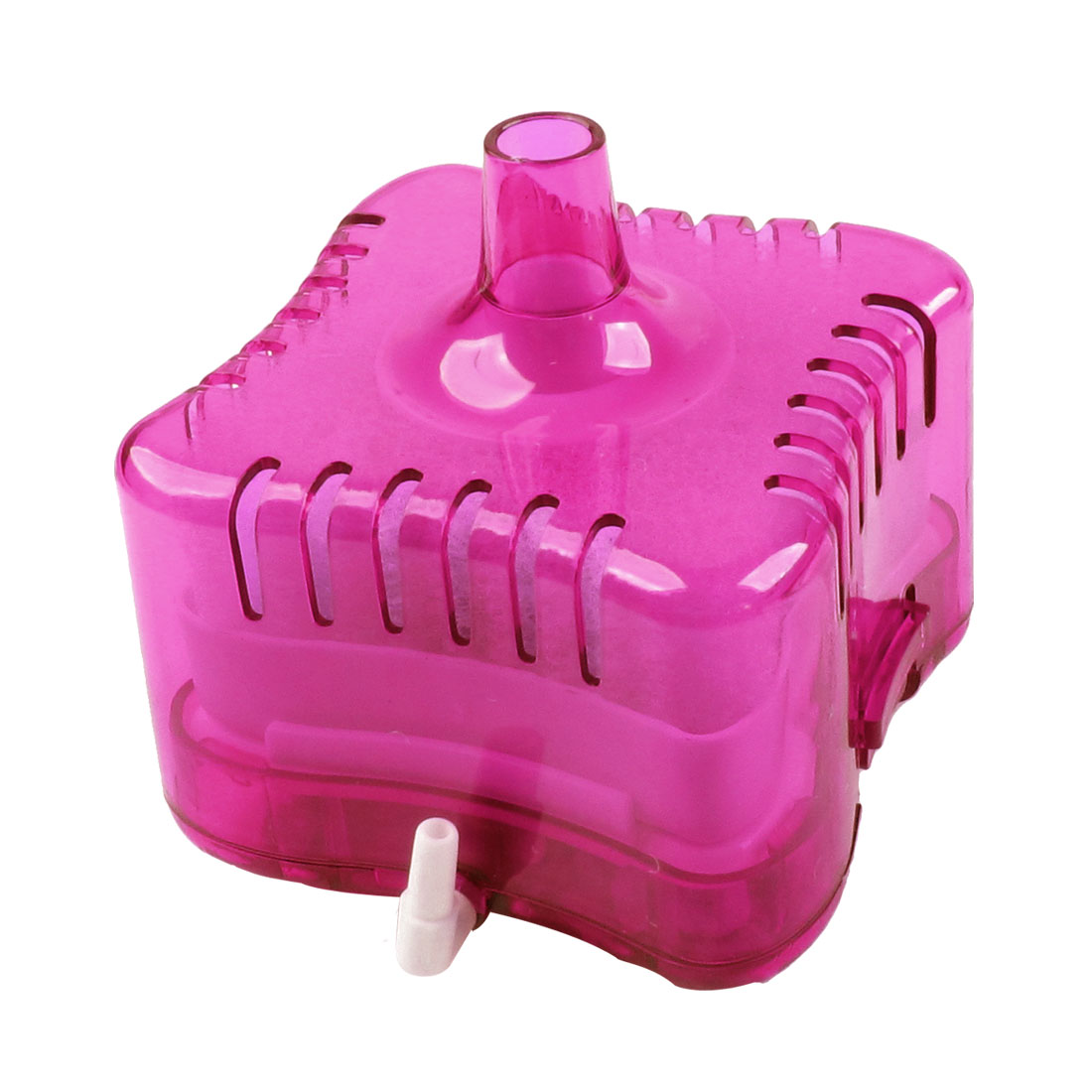 Clear Pink Plastic Case Biochemical Sponge Fish Tank Aquarium Filter