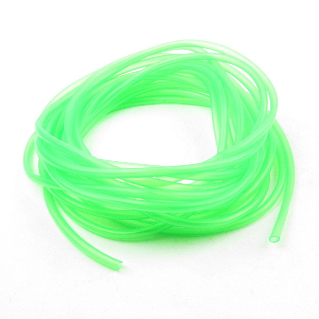 Green Soft Plastic 6.5M Hose Aquarium Oxygen Balance Pipe