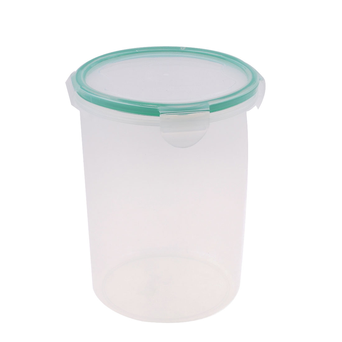 Clear Plastic Cylinder Shaped Preservation Keeping Fresh Box 1600ml