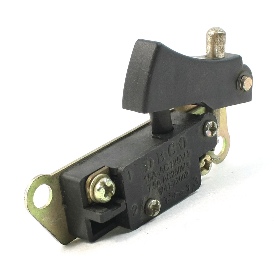 Angle Grinder Manual Lock Trigger Switch AC125V/15A AC250V/7.5A for LG 180