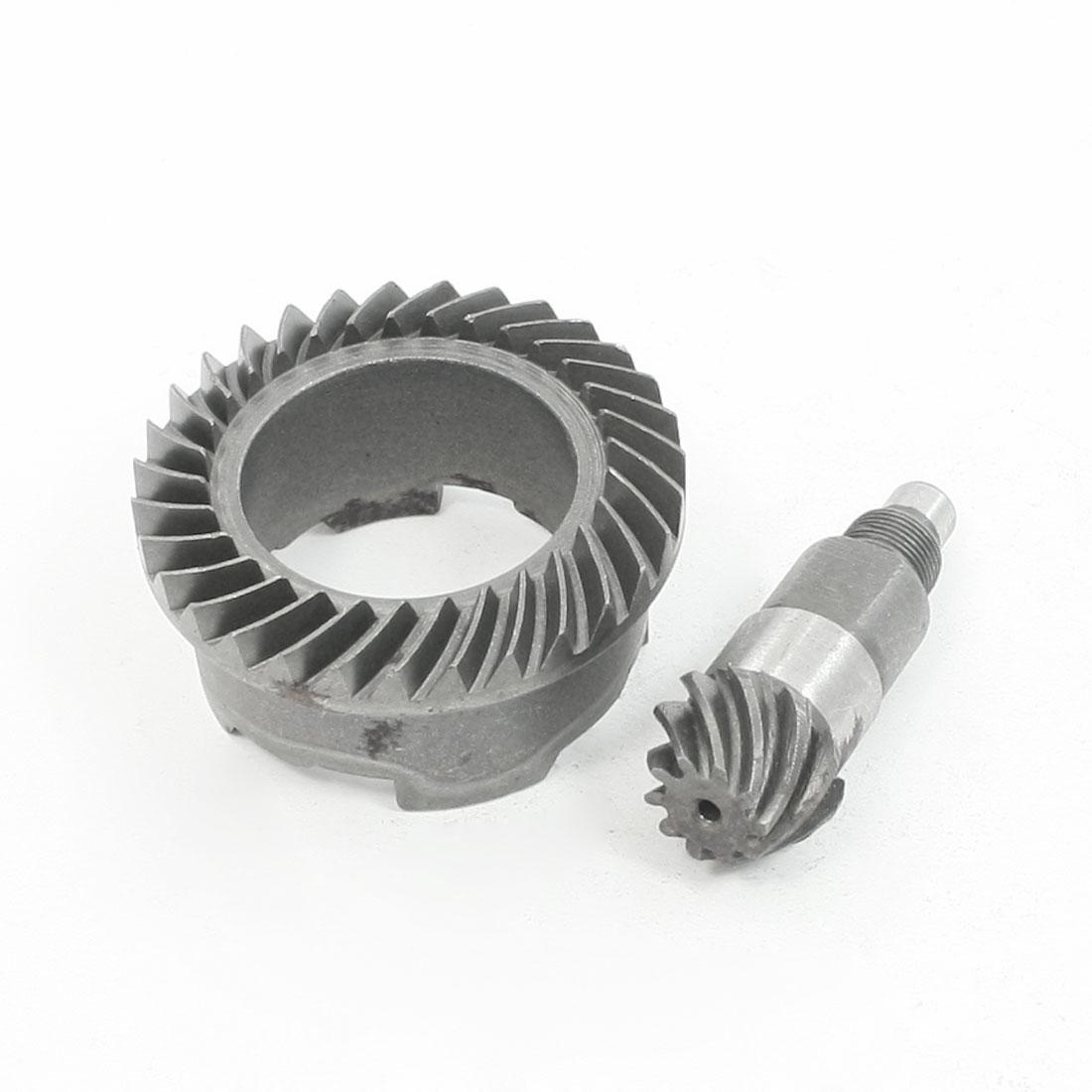 Power Tool Repair Part Spiral Bevel Gear Pinion Set for Bosch 26 Electric Hammer