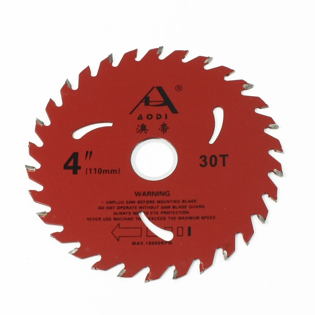 110mm Dia 30T Round Disc Shape Saw Blade Wheel for Wood Cutting
