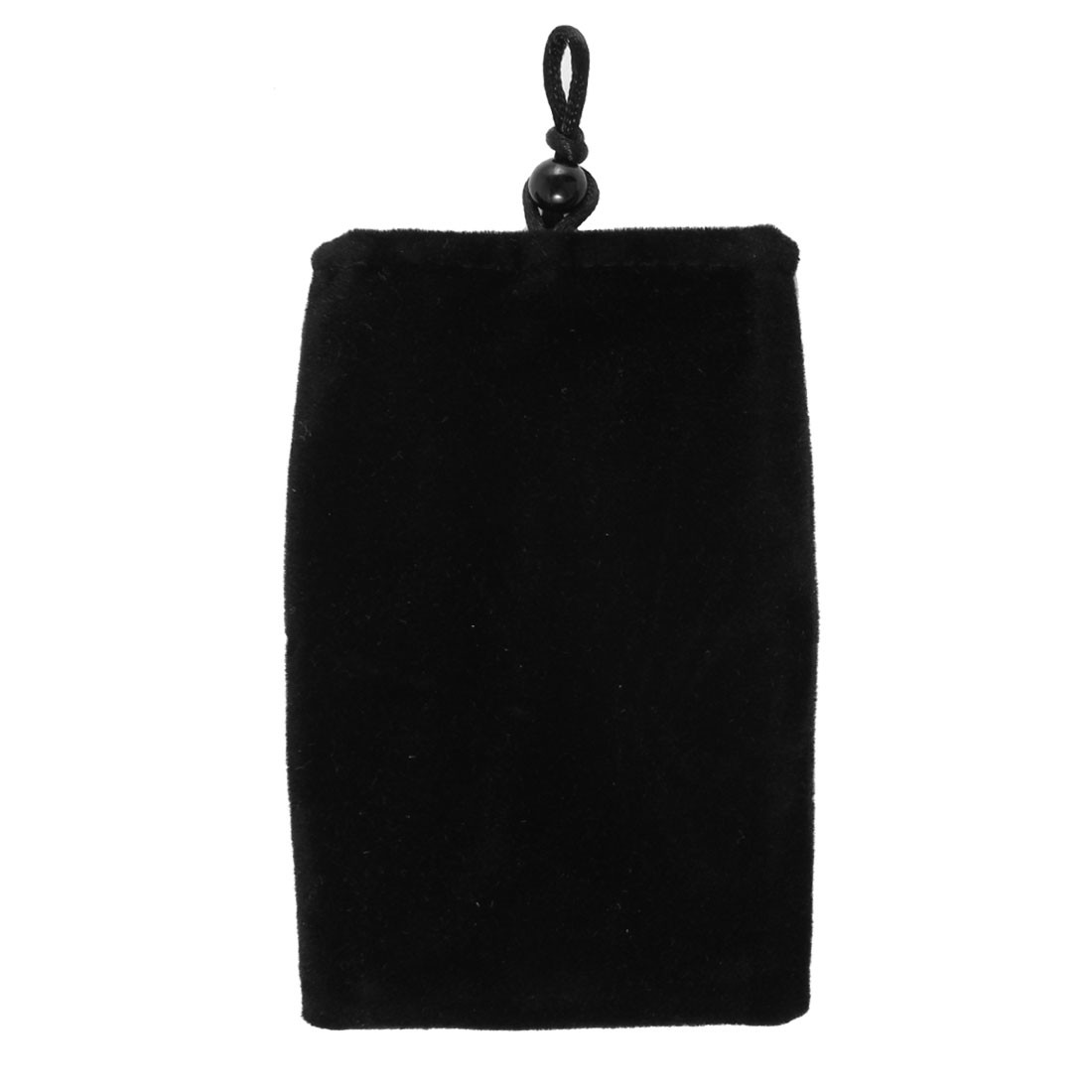 Black Velvet Universal Pouch Pocket Cover Sleeve Case for Mobile Phone