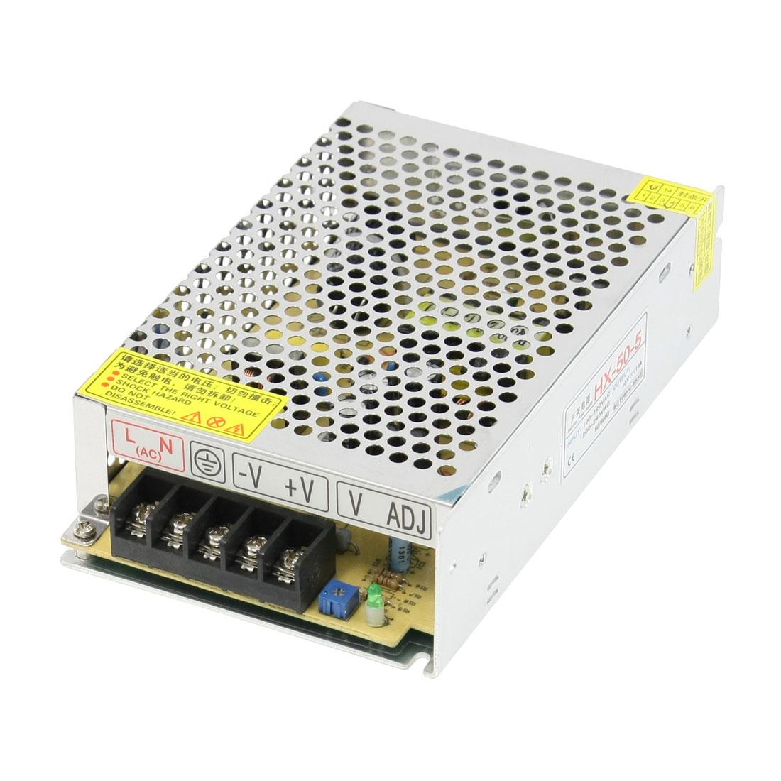 LED Illumination Power Supply Adapter Convertor 50W 100-120VAC to DC5V 10A