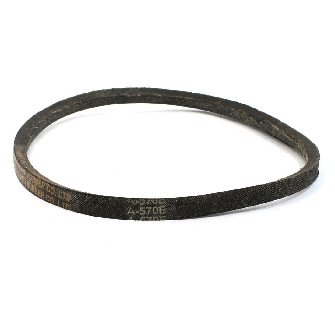 """A-570E 22 7/16"""" Inner Girth V Type Rubber Transmission Belt for Washing Machine"""