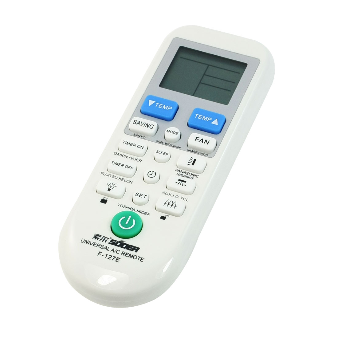 Universal A/C Remote Controller for Hitachi Sharp Gree Air Aonditioner