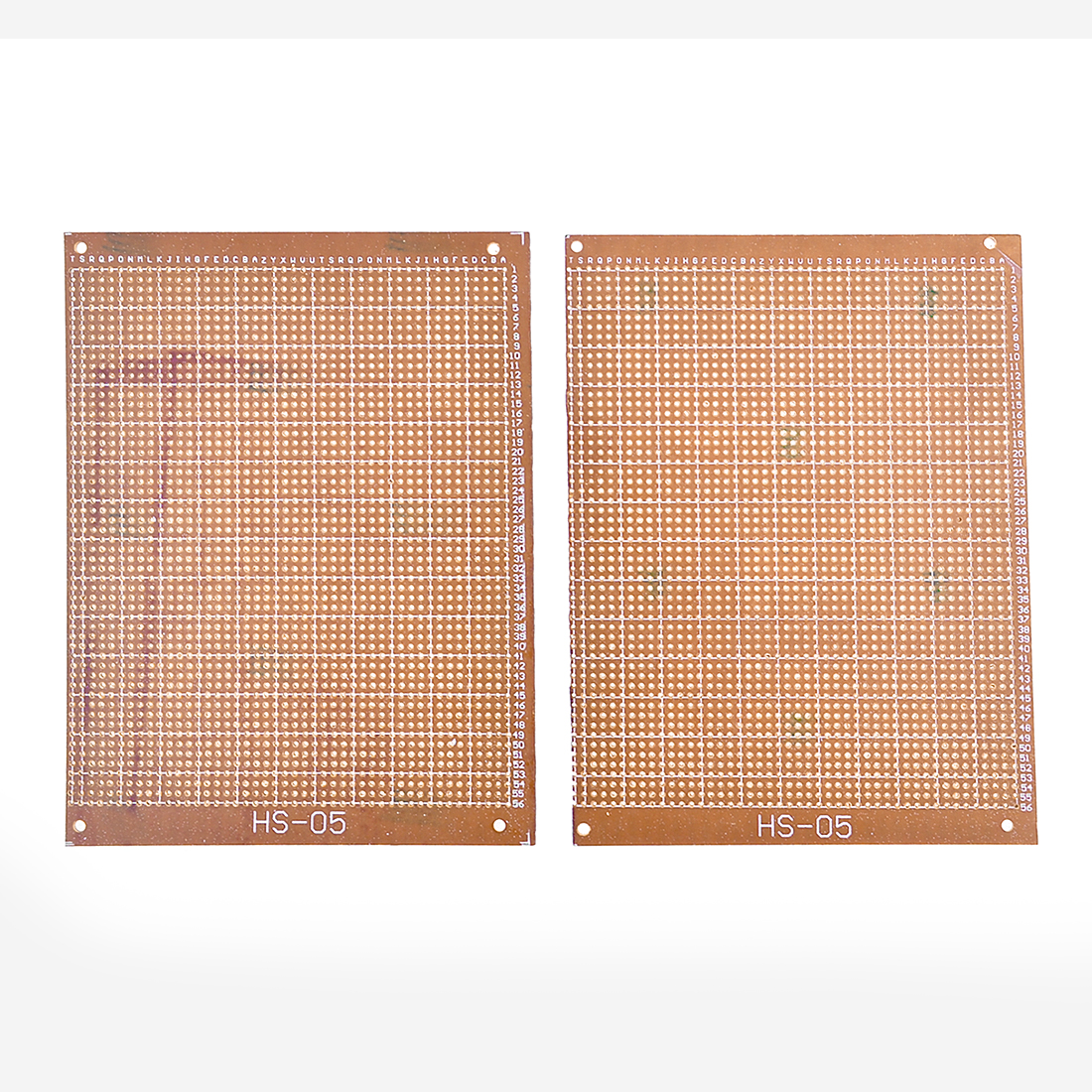 2pcs Solderable Stripboard Universal Single Side PCB Board 16x12.3cm