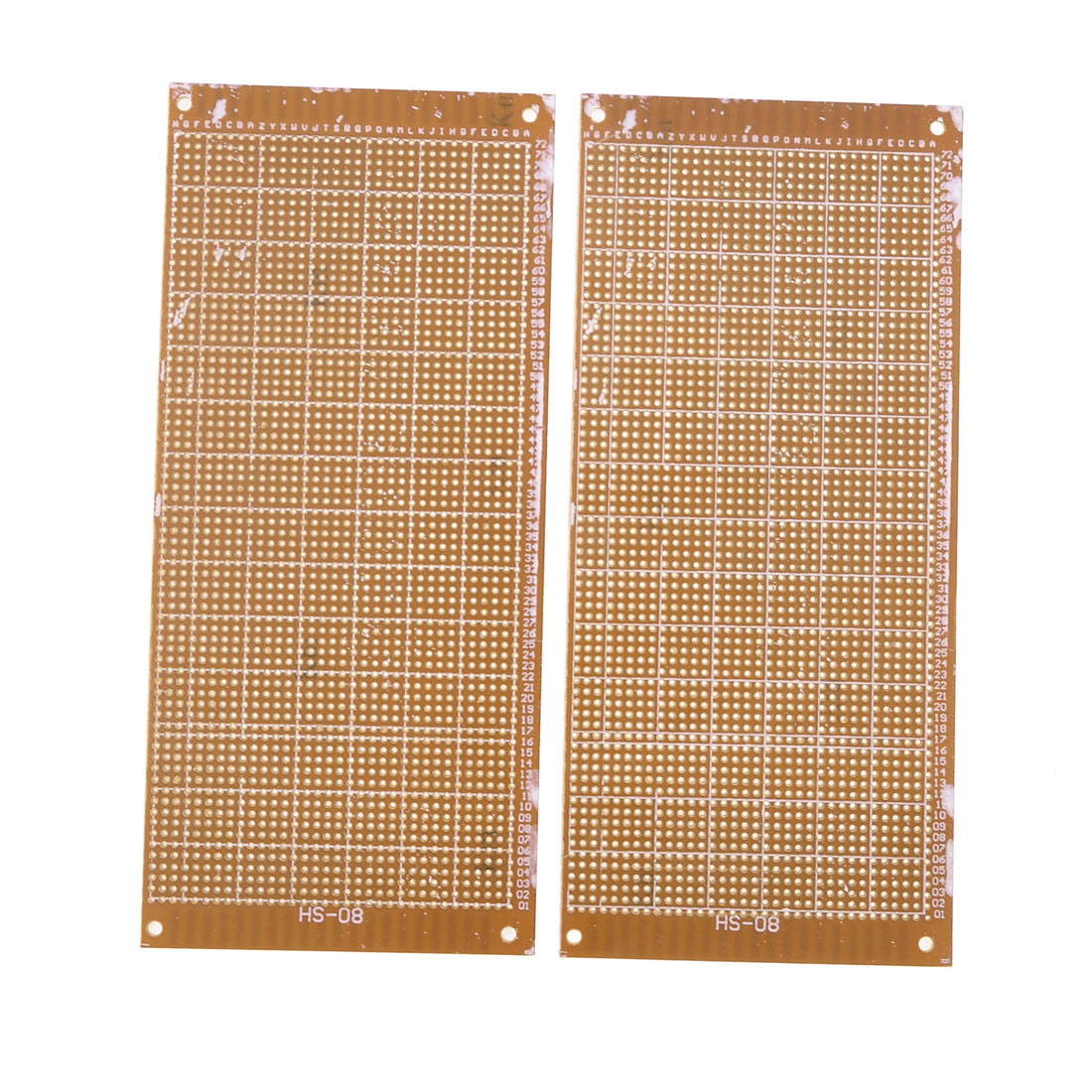 2pcs Prototype Single Side Universal PCB Print Circuit Board 20.5x9.3cm