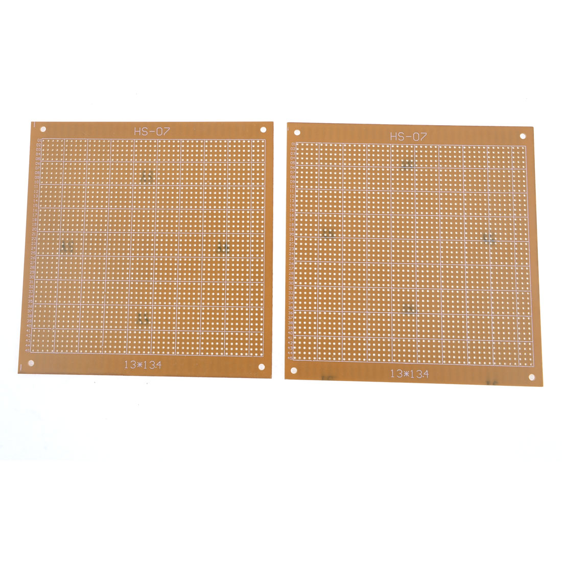 2pcs Solderable Stripboard Universal Prototyping PCB Board 13.4x13cm