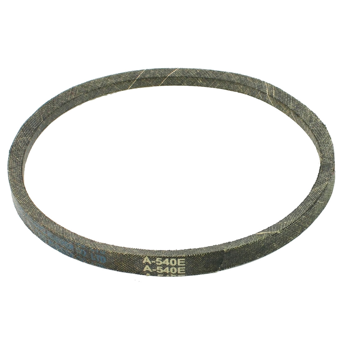 Black Washing Machine Motor A Type V Belt Girth 540mm Top Width 12mm