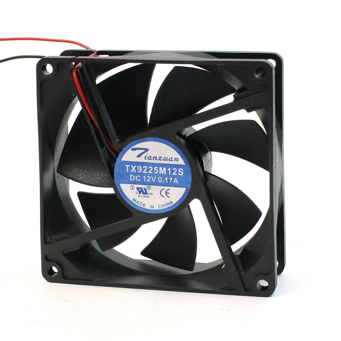 PC Computer Desktop 2 Wire Connector Cooling Fan DC 12V 0.17A