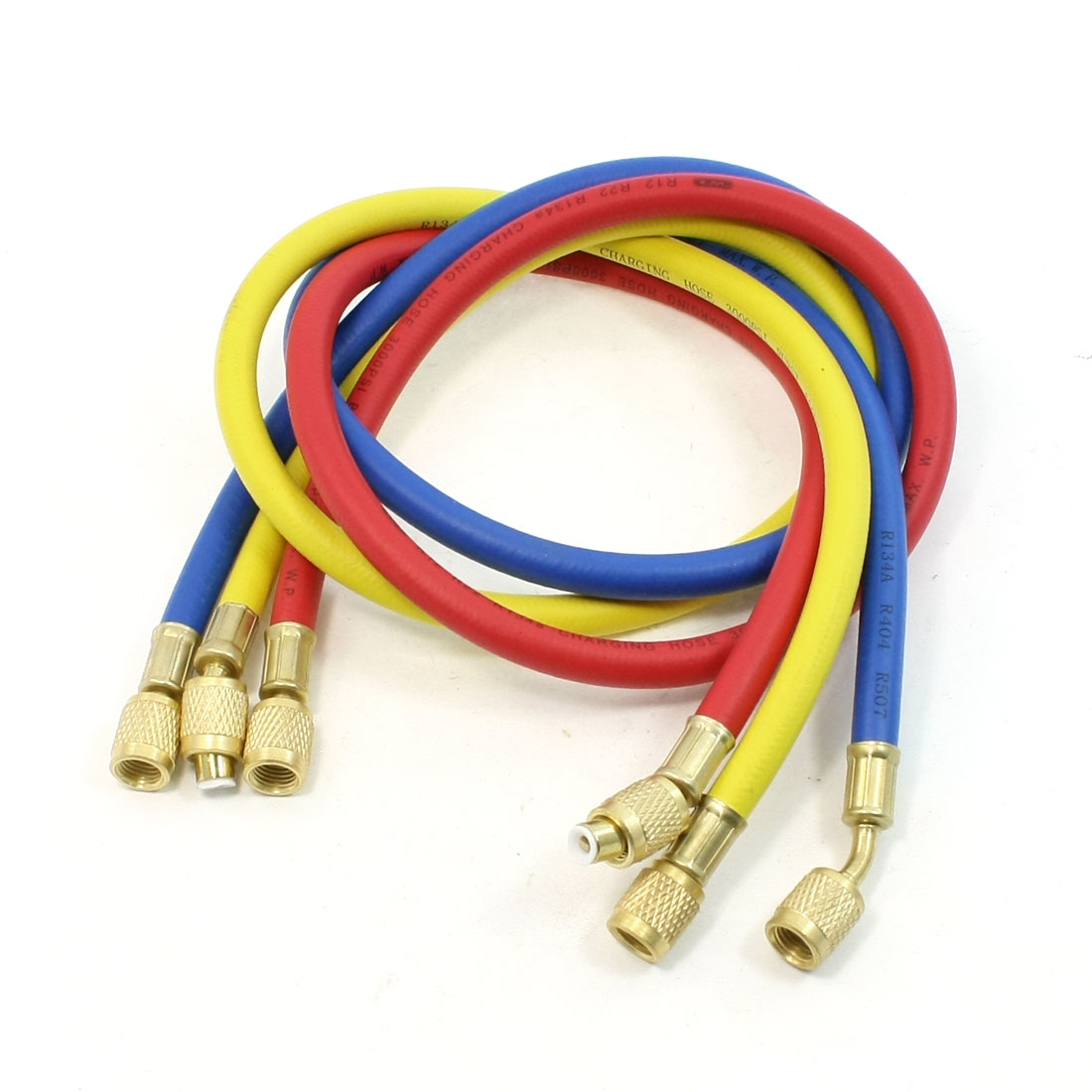 "Female to Female 1/4"" NPT Thread Connecting Refrigeration Charging Hoses 600PSI"