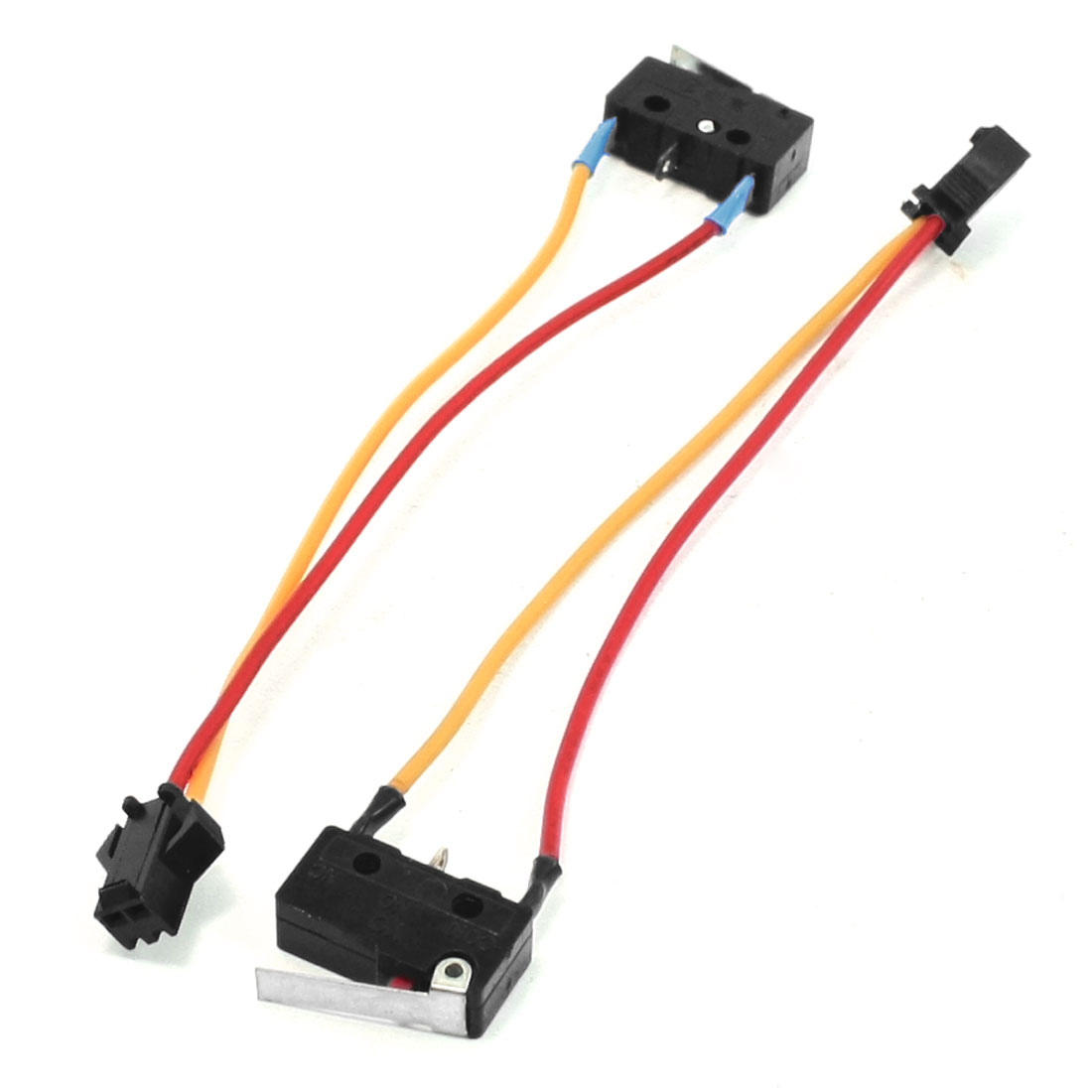 3A 250VAC 2 Wire Ignition Control SPST NO+NC Gas Heater Micro Switch 2 Pcs