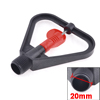 Black Red Plastic 360 Degree Rotation Lawn Water Sprayer Sprinkler Head
