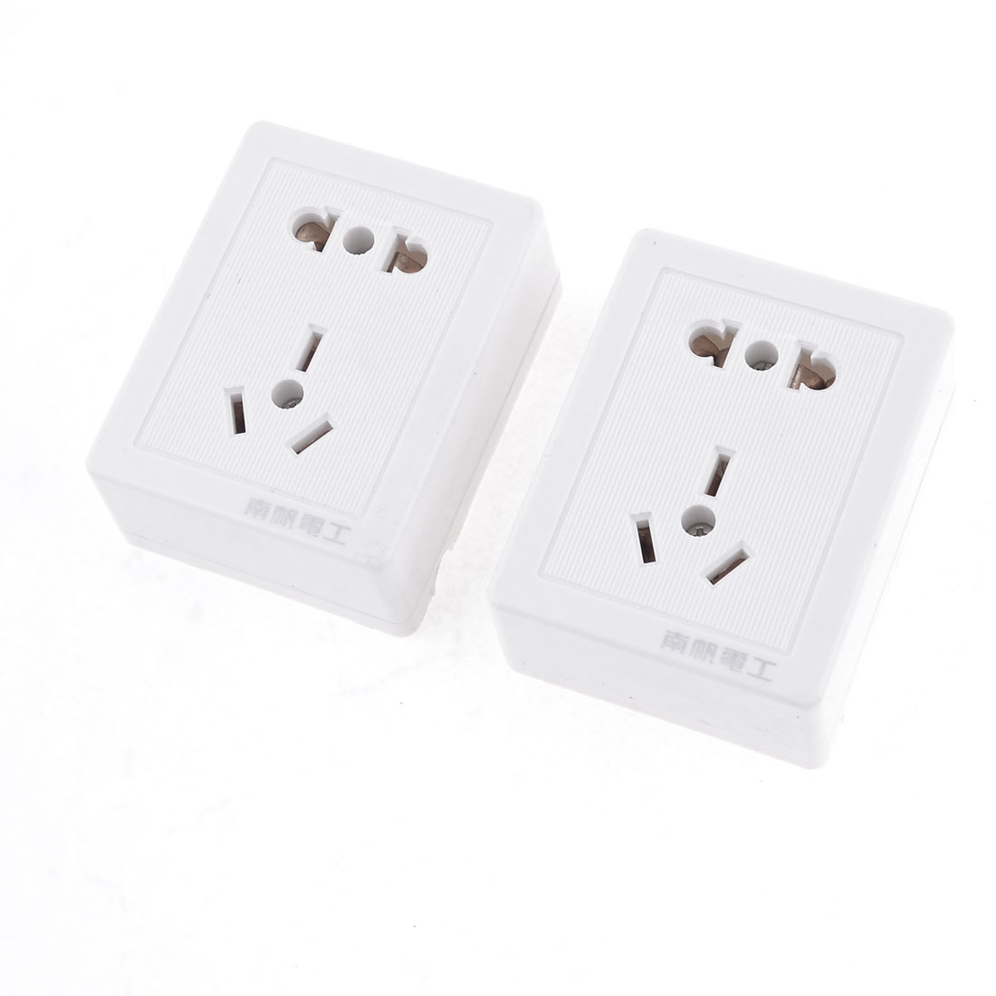 US EU AU Plug Socket Wall Plate Power Connector AC 250V 10A 2Pcs