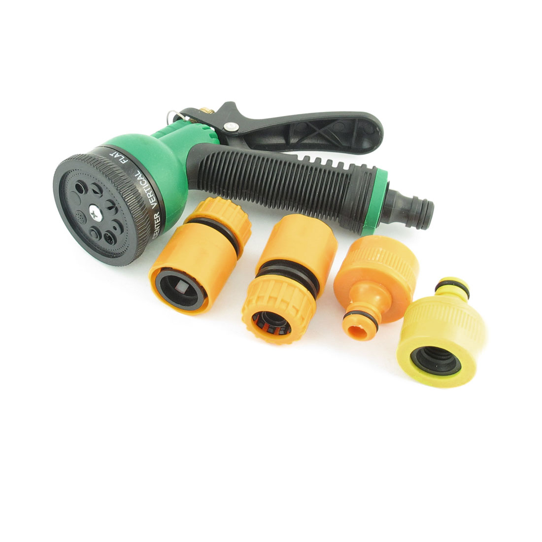 5 in 1 Garden Plants Lawn Watering Water Spraying Sprayer Hose Nozzle Set