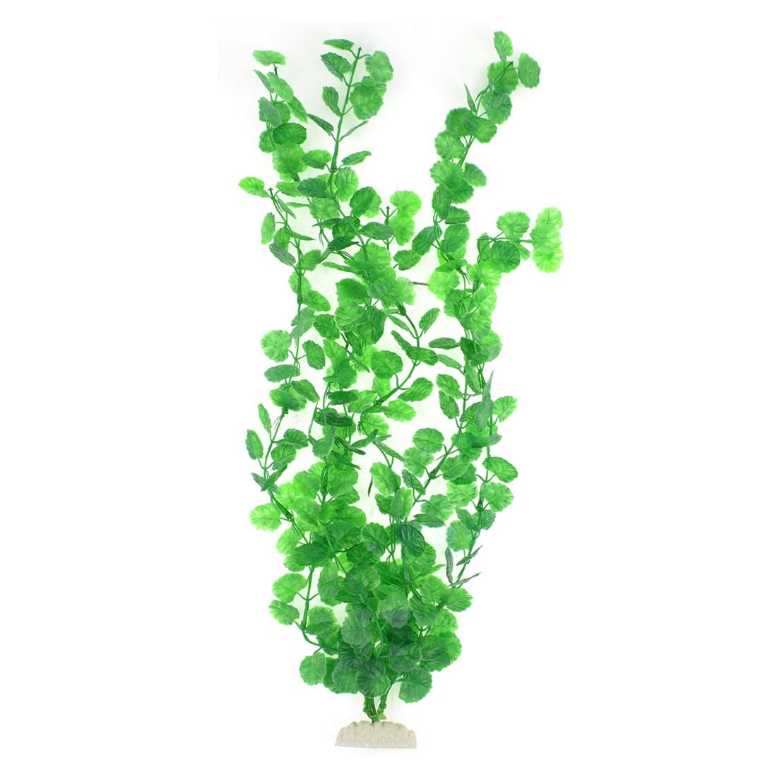Plastic Green Underwater 54cm Grass Plant for Aquarium Ornament