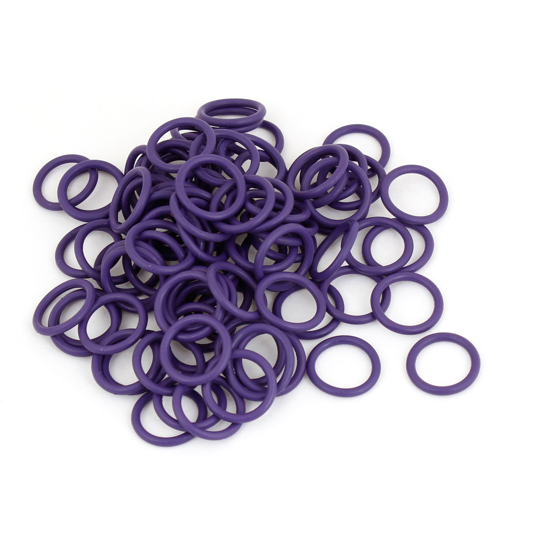 100pcs HNBR Car Truck Van Air Con A/C Purple Seal O Ring 14 x 12 x 1.5mm