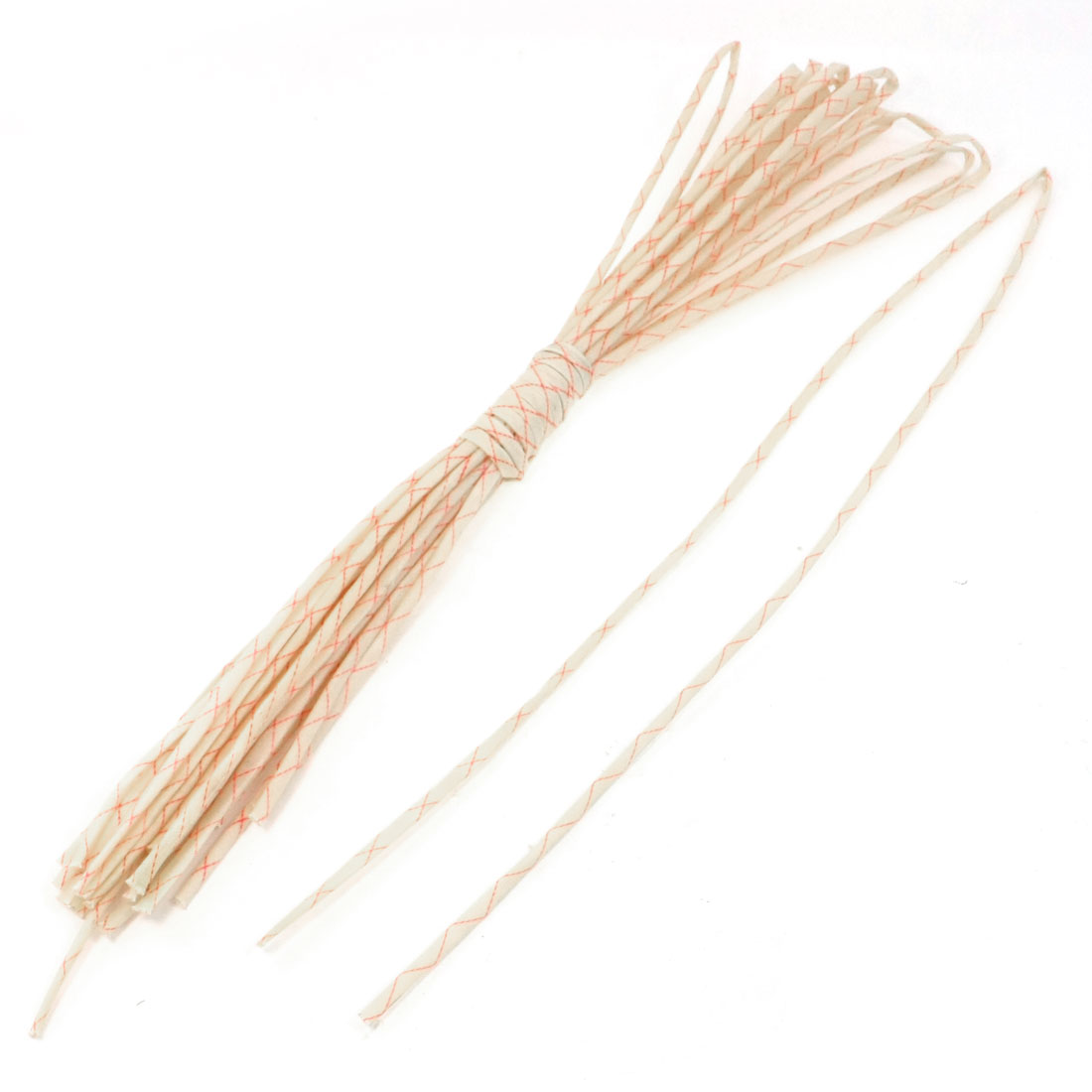 15pcs 3mm x 92cm Fiberglass Insulating Sleevings for Electrical Wire