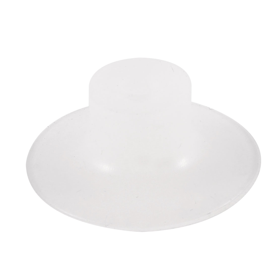 30mm x 10mm Vacuums Silicone Waterproof Suction Cup Sucker Clear White