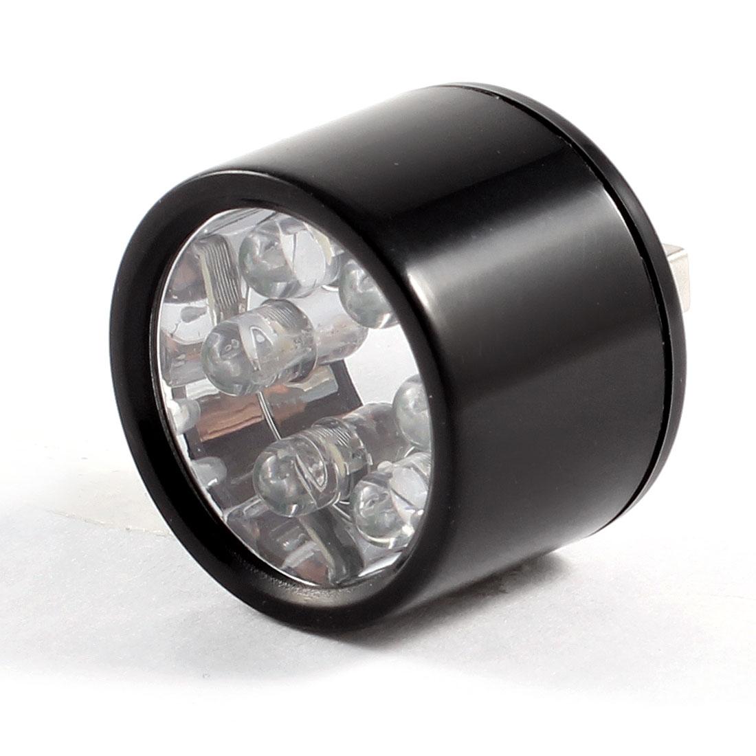 30mm Diameter Half Ball PC Laptop White Light USB 5 LED Lamp