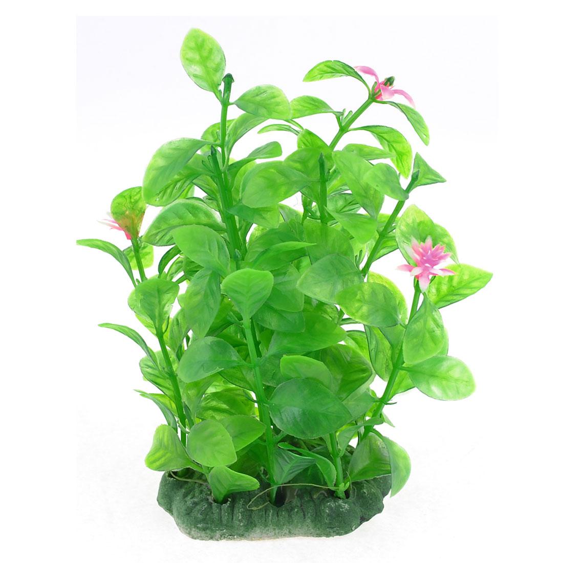 12cm Height Emulational Plant Grass Green for Aquarium Fish Tank