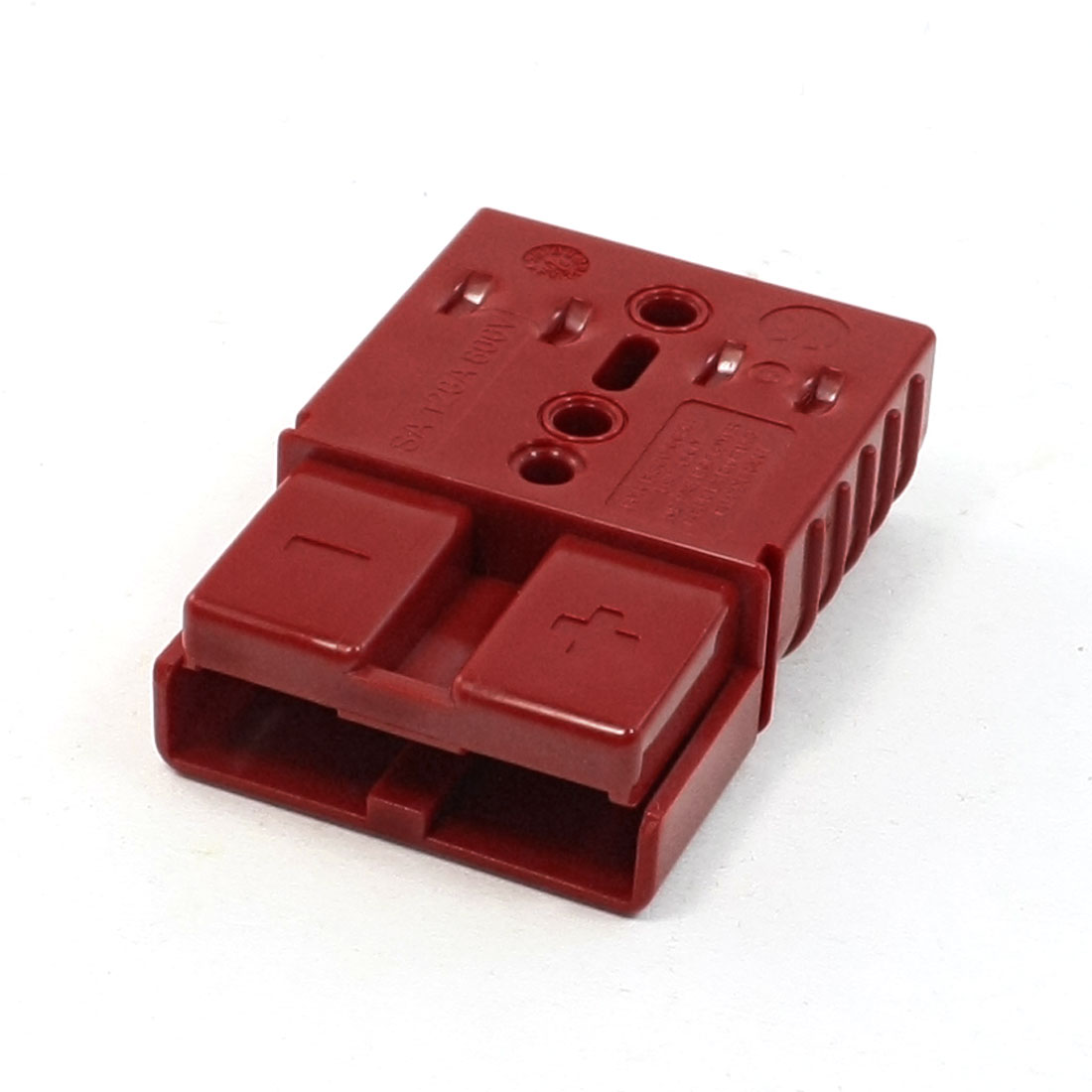 Red Plastic Negative Positive Holes Electricity Components Connector 120A 600V