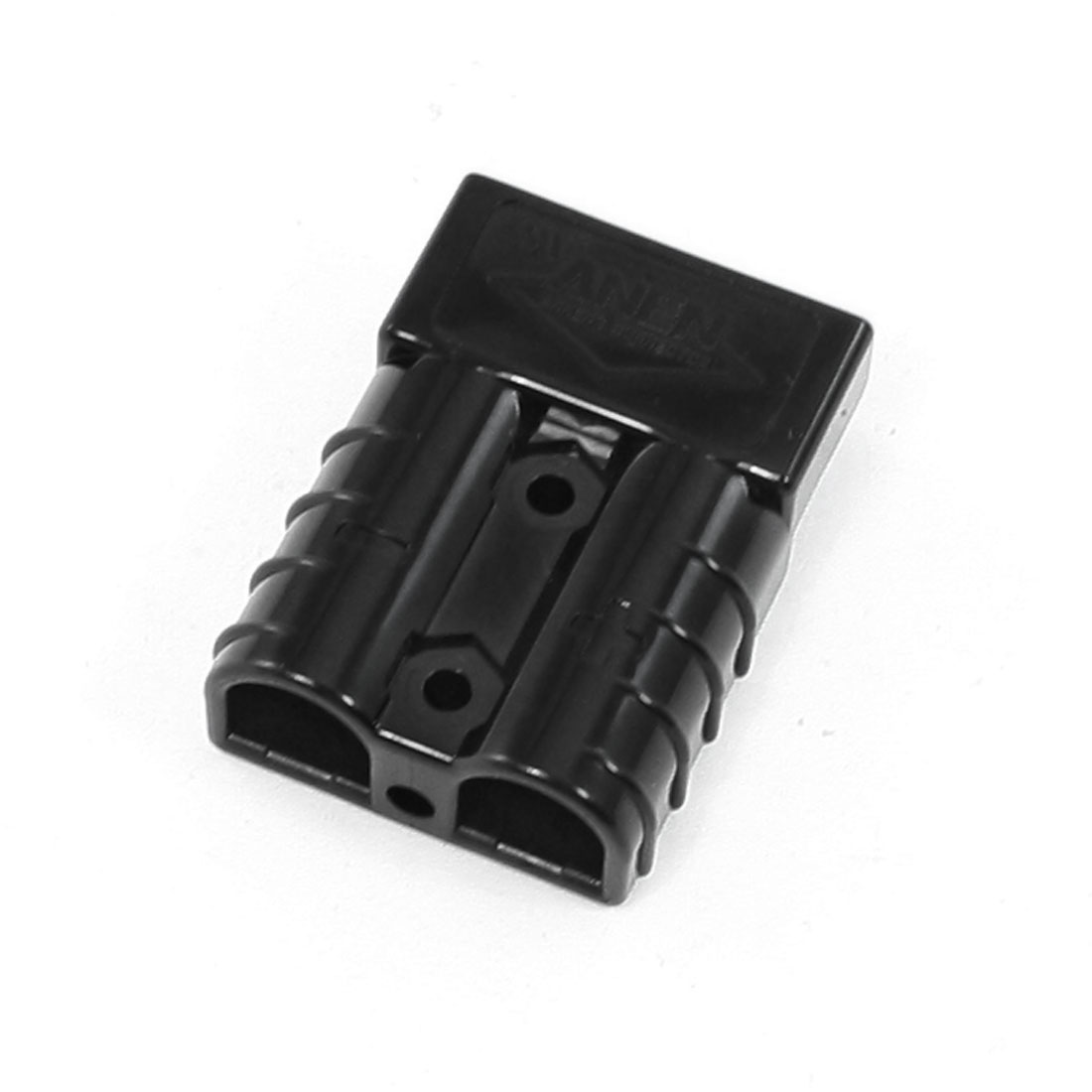 Black Plastic Housing Aluminum Plated Powerpole Connector 50A 600V