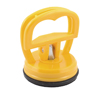 "2.8"" Height Black Rubber Base Yellow Suction Cup Plate Glass"
